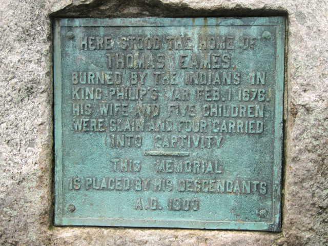 Thomas Eames Memorial